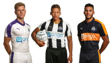 Newcastle United 2016 2017 PUMA Away and Third Football Kit, Soccer Jersey, Shirt