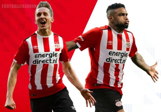 PSV Eindhoven 2016 2017 Umbro Home and Away Football Kit, Soccer Jersey, Shirt, Tenue