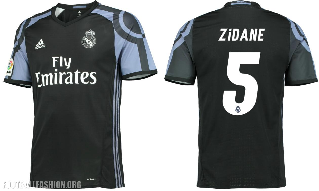 Real Madrid 2016 17 Adidas Third Kit Football Fashion Org