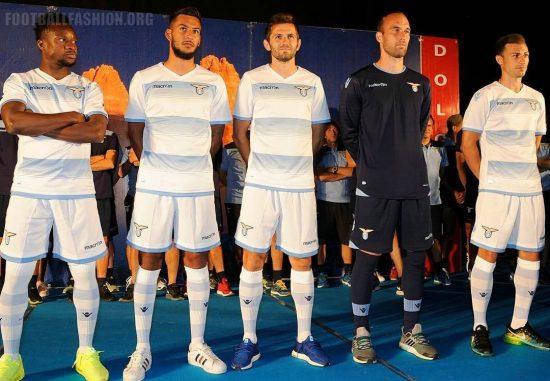 SS Lazio 2016 2017 Macron Third White Football Kit, Soccer Jersey, Shirt, Gara, Maglia, Camiseta, Camisa