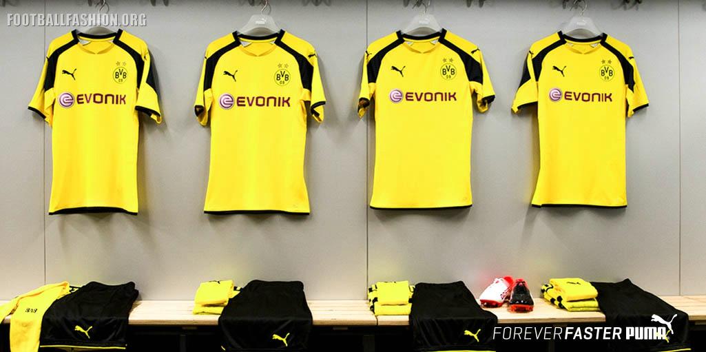 Borussia Dortmund 201617 PUMA UEFA Champions League Home