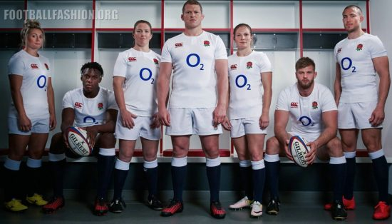 England Rugby 2016 2017 Canterbury Home Kit, Jersey, Shirt