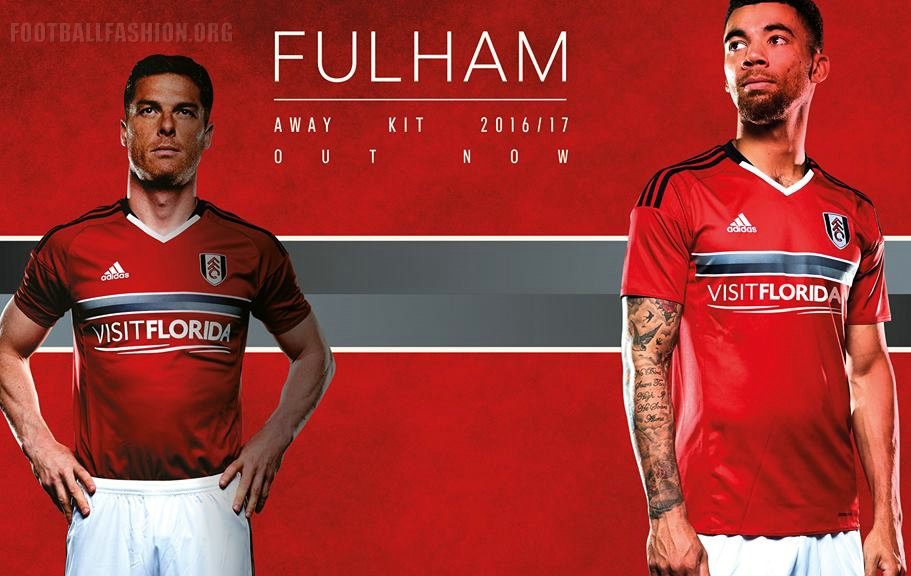 Fulham Fc 2016 17 Adidas Home And Away Kits Football