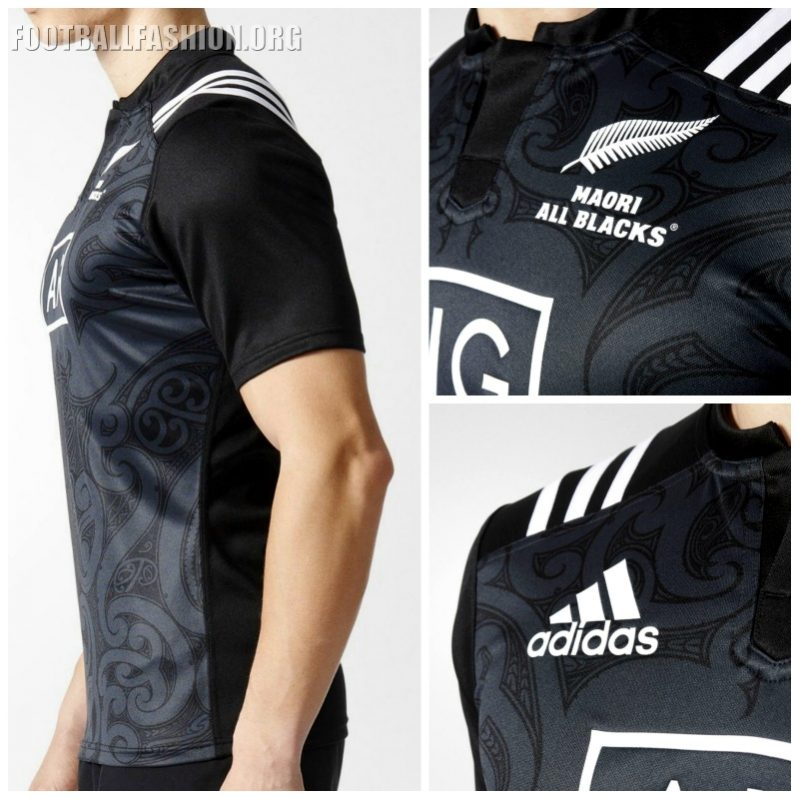 fe1b244a6d3 Maori All Blacks 2016/17 adidas Jersey - FOOTBALL FASHION.ORG