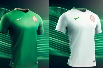 Nigeria 2016 2017 Nike Home and Away Olympic Football Kit, Soccer Jersey, Shirt, Olympics