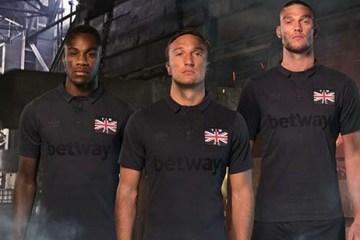 West Ham 2016 2017 Thames Ironworks Commemorative Football Kit, Soccer Jersey, Shirt