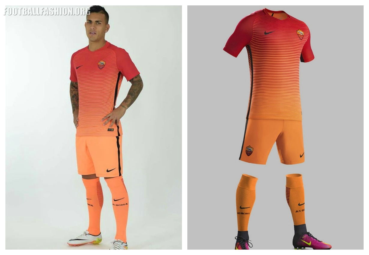 AS Roma 2016 17 Nike Third Kit – FOOTBALL FASHION.ORG 03ba4dabe