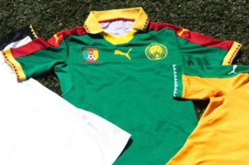a4ab26cfc Cameroon 2017 Africa Cup of Nations PUMA Home Kit – FOOTBALL FASHION.ORG
