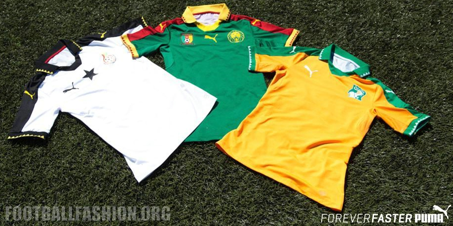 b4325bedfb5 Côte d'Ivoire 2017 Africa Cup of Nations Home Kit - FOOTBALL FASHION.ORG