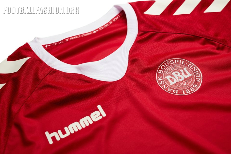 776092f4c The character is embossed on the front of the jersey to signify Denmark s  footballing rebirth after missing out on World Cup 2014 and EURO 2016.
