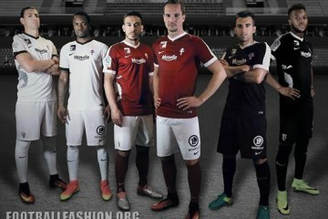 FC Metz 2016 2017 Nike Home, Away and Third Football Kit, Soccer Jersey, Shirt, Maillot
