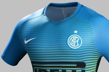 Inter Milan 2016 2017 Nike Third Football Kit, Soccer Jersey, Shirt, Camisa, Camiseta, Gara, Maglia