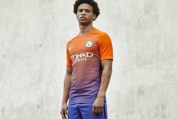 Manchester City 2016 2017 Nike Third Football Kit, Soccer Jersey, Shirt, Camiseta, Maillot, Camisa, Trikot