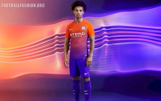 Manchester City 2016 2017 Nike Third Football Kit 9b94d3b001f3a