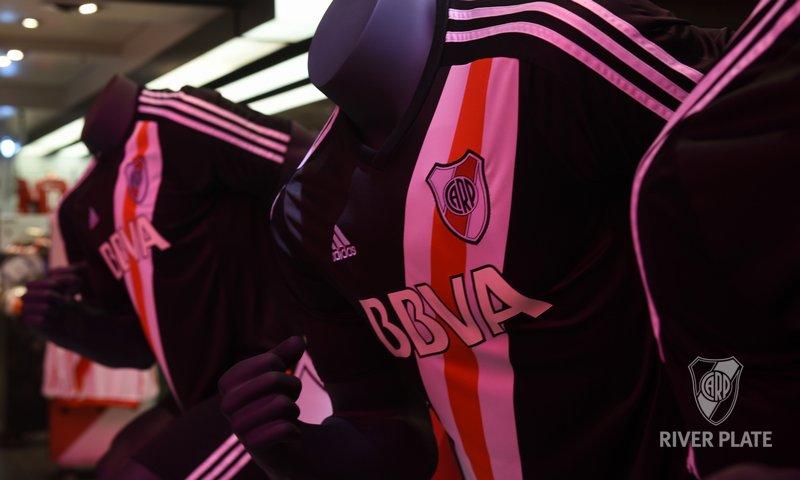 River Plate 2016 17 adidas Fourth Kit - Football Fashion d8f7cfad4133b