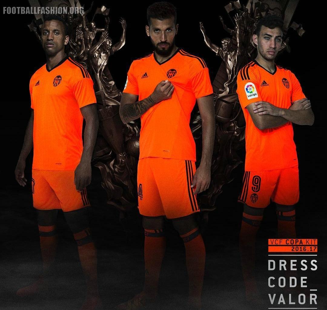 huge selection of 9c9e2 2caed Valencia CF 2016/17 adidas Third Kit - FOOTBALL FASHION.ORG