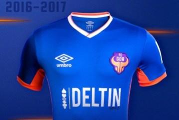 FC Goa 2016 2017 adidas Home Football Kit, Soccer Jersey, Shirt