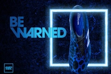 New Balance Visaro Soccer Football Boot Signal Edition - Inspired by the Poisonous Dart Frog