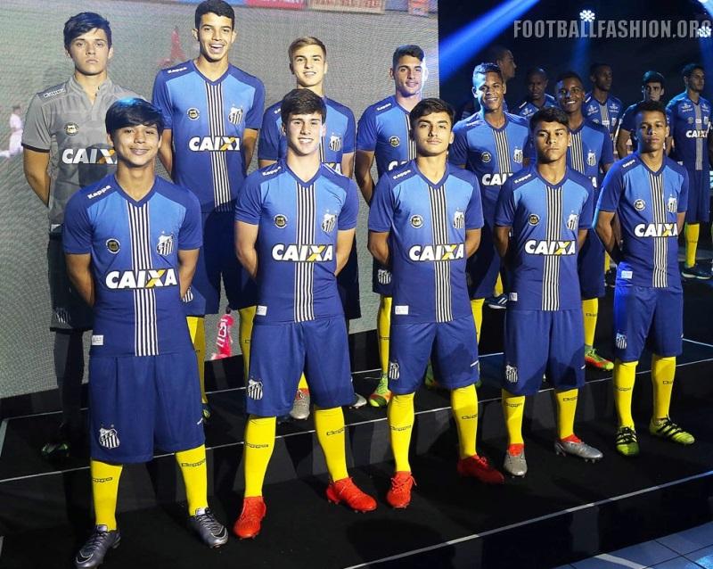 Santos FC 2016 17 Kappa Third Kit – FOOTBALL FASHION.ORG 8aa45115b2c38