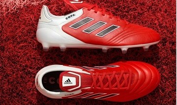 adidas COPA 17 Red Limit Soccer Shoes, Football Boots, Cleats