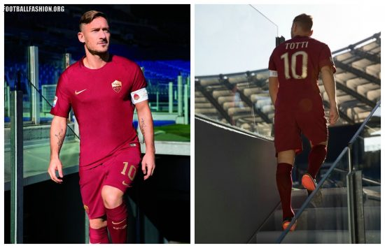 AS Roma 2016 2017 Nike Special Edition Derby Home Football Kit, Soccer Jersey, Shirt, Gara, Maglia Derby della Capitale