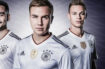 Germany 2017 2018 FIFA Confederations Cup adidas Home Football Kit d55559f2c