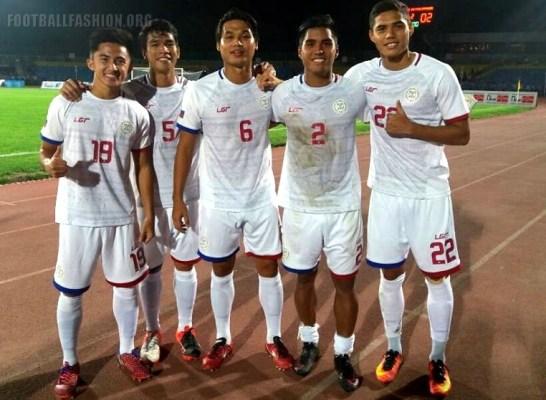 Philippines Azkals 2016 2017 LGR Home, Away and Third Football Kit, Soccer Jersey, AFF Suzuki Cup Shirt