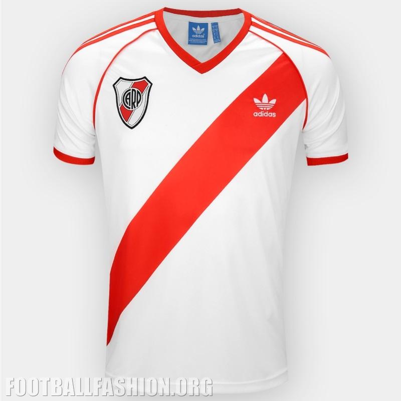 ba4baae24 River Plate 1986 adidas Originals Home Soccer Jersey, Shirt, Football Kit,  Camiseta,