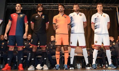 Genoa CFC 2016 2017 Lotto Home, Away and Third Football Kit, Soccer Jersey, Shirt, Maglia, Gara