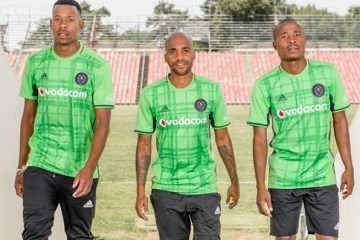 Orlando Pirates 80th Anniversary adidas Soccer Jersey, Shirt, 2016 2017 Football Kit