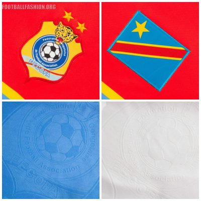 DR Congo 2017 Afrcia Cup of Nations O'Neills Football Kit, Soccer Jersey, Shirt, Maillot AFCON CAN 2017