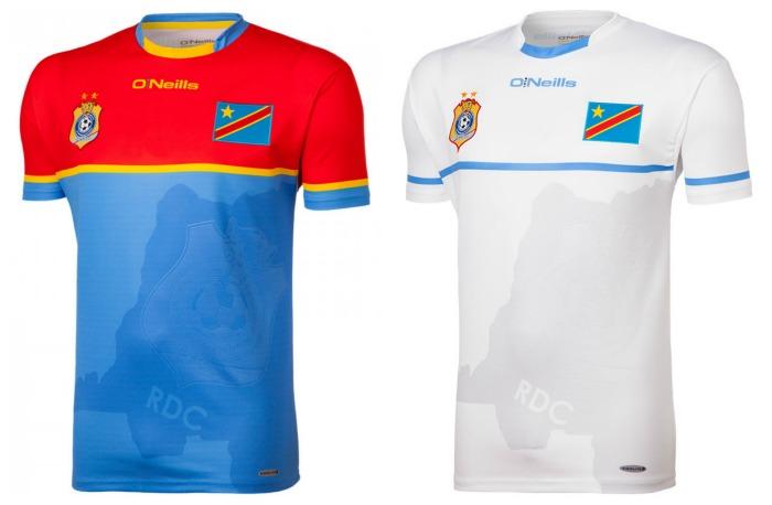 3daa2d389 DR Congo 2016 CHAN Champions O Neills Kit – FOOTBALL FASHION.ORG