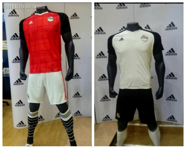 Egypt 2017 Africa Cup of Nations adidas Kits texarkanavht4