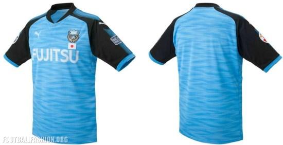 Kawasaki Frontale 2017 PUMA Football Kit, Soccer Jersey, Shirt