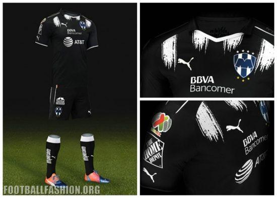 Rayados de Monterrey 2017 PUMA Third Football Kit, Shirt, Soccer Jersey, Camiseta de Futbol, Playera, Equipacion