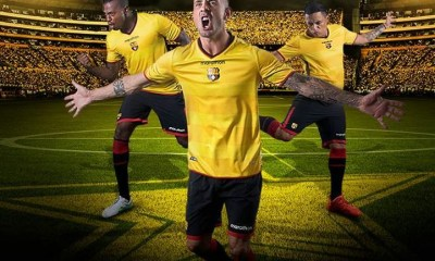 Barcelona SC 2017 Marathon Home Football Kit, Soccer Jersey, Shirt, Camiseta de Futbol, Playera