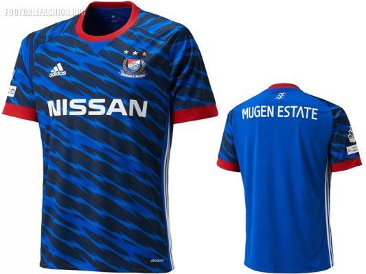 Yokohama F. Marinos 2017 adidas Home and Away Football Kit, Soccer Jersey, Shirt