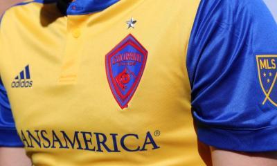 Colorado Rapids 2017 adidas Away Soccer Jersey, Shirt, Football Kit, Camiseta de Futbol, Playera
