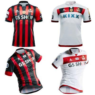 FC Seoul le coq sportif 2017 Football Kit, Soccer Jersey Shirt
