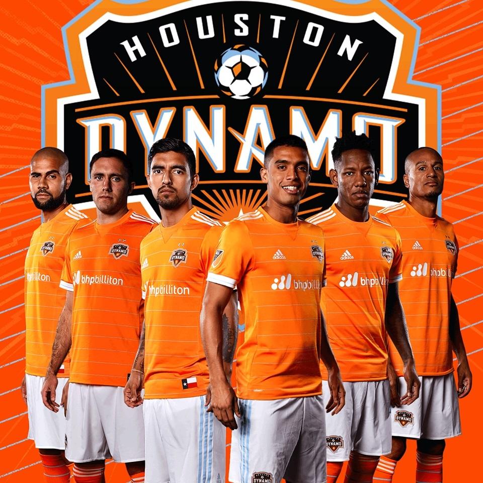 Dynamo: Houston Dynamo 2017 Adidas Home Jersey