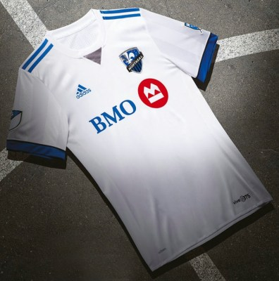 Montreal Impact 2016 adidas Away Soccer Jersey, Football Kit, Shirt, Maillot