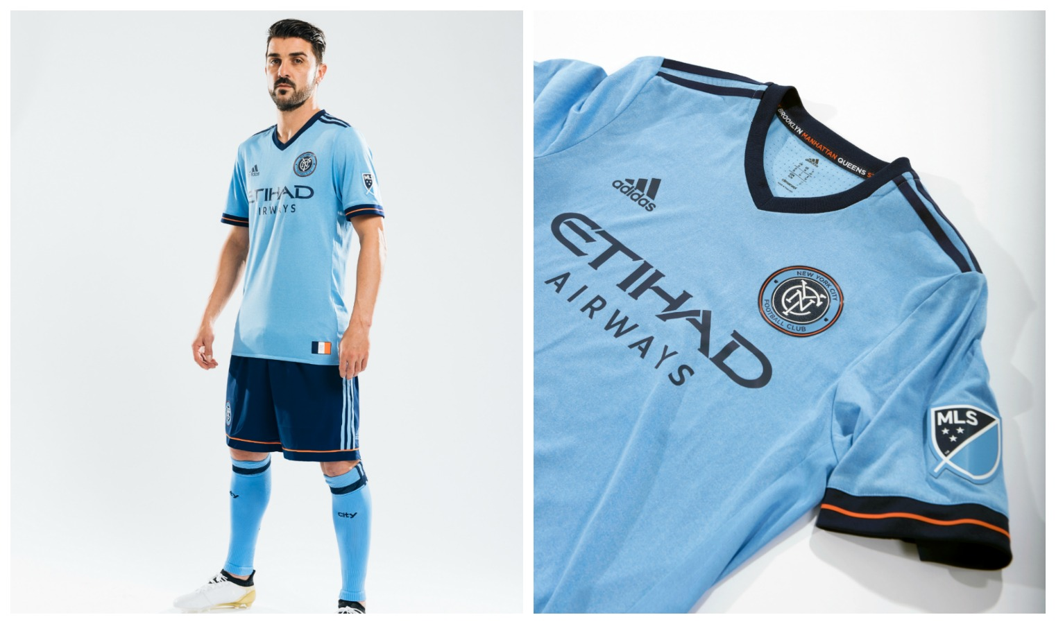 the latest 480ff c0511 New York City FC 2017 adidas Home Jersey - FOOTBALL FASHION.ORG