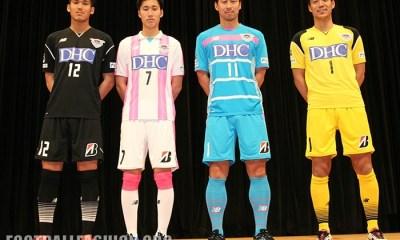 Sagan Tosu FC 2017 New Balance Home and Away Football Kit, Soccer Shirt, Jersey