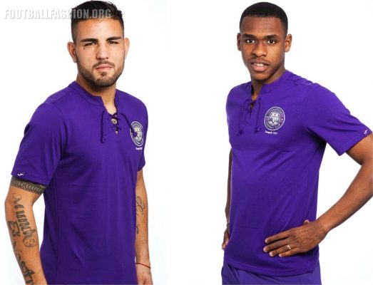 Toulouse FC 2017 80th Anniversary Joma Football Kit, Soccer Jersey, Shirt, Maillot, maillot collector des 80 ans du TFC