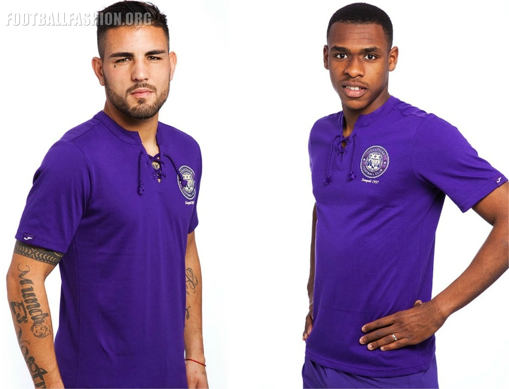 Toulouse FC 2017 80th Anniversary Joma Kit