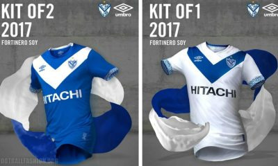 Vélez Sarsfield 2017 Umbro Home and Away Football Kit, Soccer Jersey, Shirt, Camiseta de Futbol, Playera