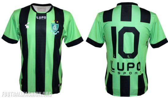 América MG 2017 Lupo Home, Away and Third Football Kit, Soccer Jersey, Shirt, Camisa do Futebol