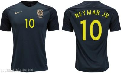 Brazil 2017 Nike Green Third Soccer Jersey, Football Shirt, Kit, Camisa Seleção Brasil III, Camiseta de Futbol