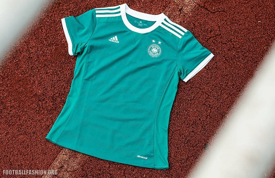 Germany Women s EURO 2017 adidas Away Kit – FOOTBALL FASHION.ORG 3730cce54