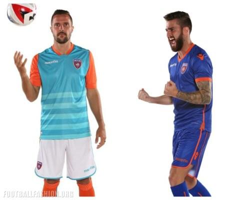 Miami FC 2017 Macron Home, Away and Third Football Kit, Soccer Jersey, Shirt, Camiseta de Futbol, Gara, Maglia